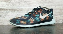 Mens Nike Free Run 5.0 Running Shoes Sz 9.5 43 M Used 724516 401 Floral - $39.59