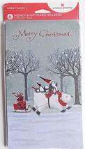 6 Penguins and Polar Bear Christmas Money Gift Card Holders & Envelopes - $4.99