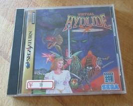 Virtual Hydlide (Sega Saturn, 1995) Japanese Version US Seller - $14.84