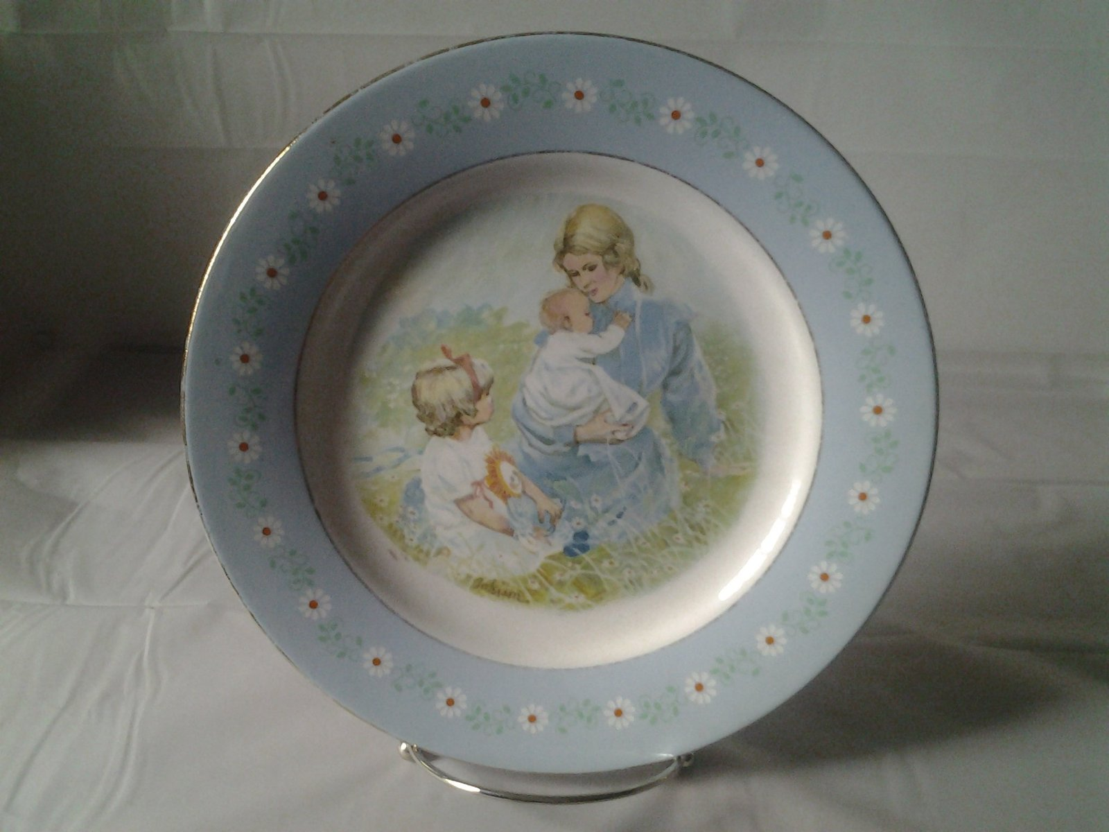 1974 Avon tenderness  collectors plate
