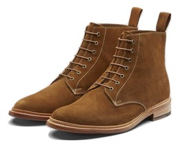 Handmade Leather dress jodhpur boots for men custom made leather men's boots - $179.87 - $189.90