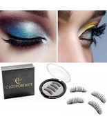 False MAGNETIC Eyelashes By CLOTHOBEAUTY, Updated Longer Size, Cruelty ... - $12.21