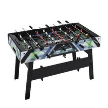 2 in 1 Air Zone Air Hockey Foosball Combination Game Table Indoor Game W - $101.96