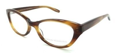 Barton Perreira Sofia Eyeglasses Frames 50-18-135 Umber Tortoise Women