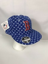 NWT Boston Redsox MLB All Over Print Fitted Vintage 2000's Hat New Era 7 3/4 - $34.64