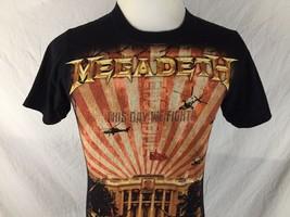 Megadeth Endgame Adult Small Black T Shirt Band Concert Tour Lyrics Anvil Tee - $24.74