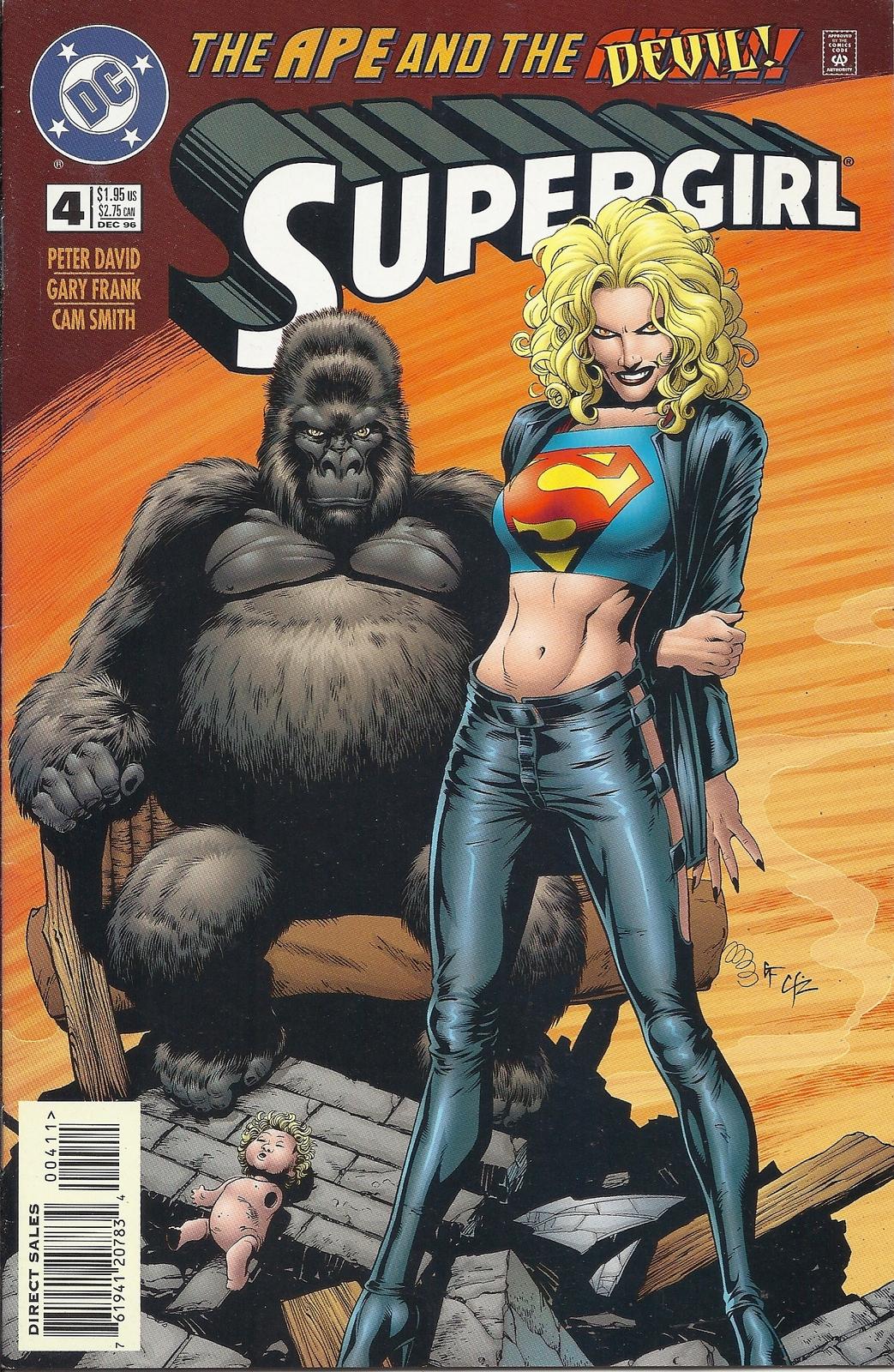 (CB-6} 1996 DC Comic Book: Supergirl #4 - $3.00