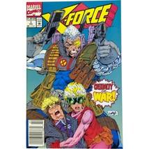 X-FORCE #7 (1992) MARVEL COMICS ROB LIEFELD! HTF NEWSSTAND VARIANT EDITI... - $14.99