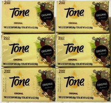 12 Tone Original-Cocoa Butter &Vitamin E Bath Bar 3.2oz ea-6 Pk Lot=12 S... - $24.72