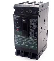 Used Siemens ED63A040 Circuit Breaker 40A 600V - $130.00