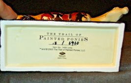 Ceramic Trail Of Painted Ponies #1468 Unity Westland Giftware AA-191996Collec image 5