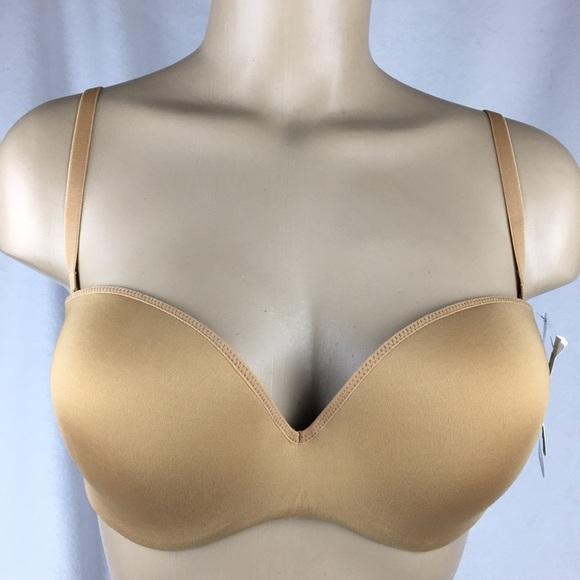 NEW almond Le Mystere 32C NWT bra