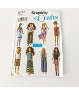 Simplicity Crafts 8457 Clothing Fashion Doll 11 tall Sporty Casual Elain... - $16.99