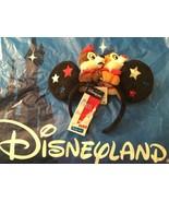 Disneyland Paris Ears 26th Anniversary Chip & Dale Mickey Minnie Headband - $108.89