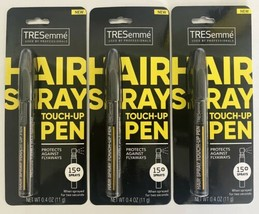 Lot of 3 TRESemmé Hair Spray Touch Up Travel Size Pens 0.4 OZ NEW