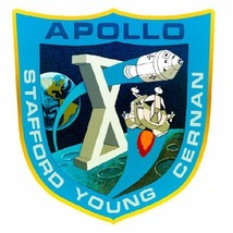 Nasa Apollo 10 Sticker Armed Forces Decal M404 - $1.45+