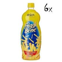 6 carapelli friggi bene Olio Girasole 1L Sunflower Oil from Italy Vegetable Oil - $25.17