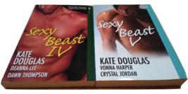 Sexy Beast lot 2 Kate Douglas erotic erotica romance books IV V 4 5 Aphr... - $15.00