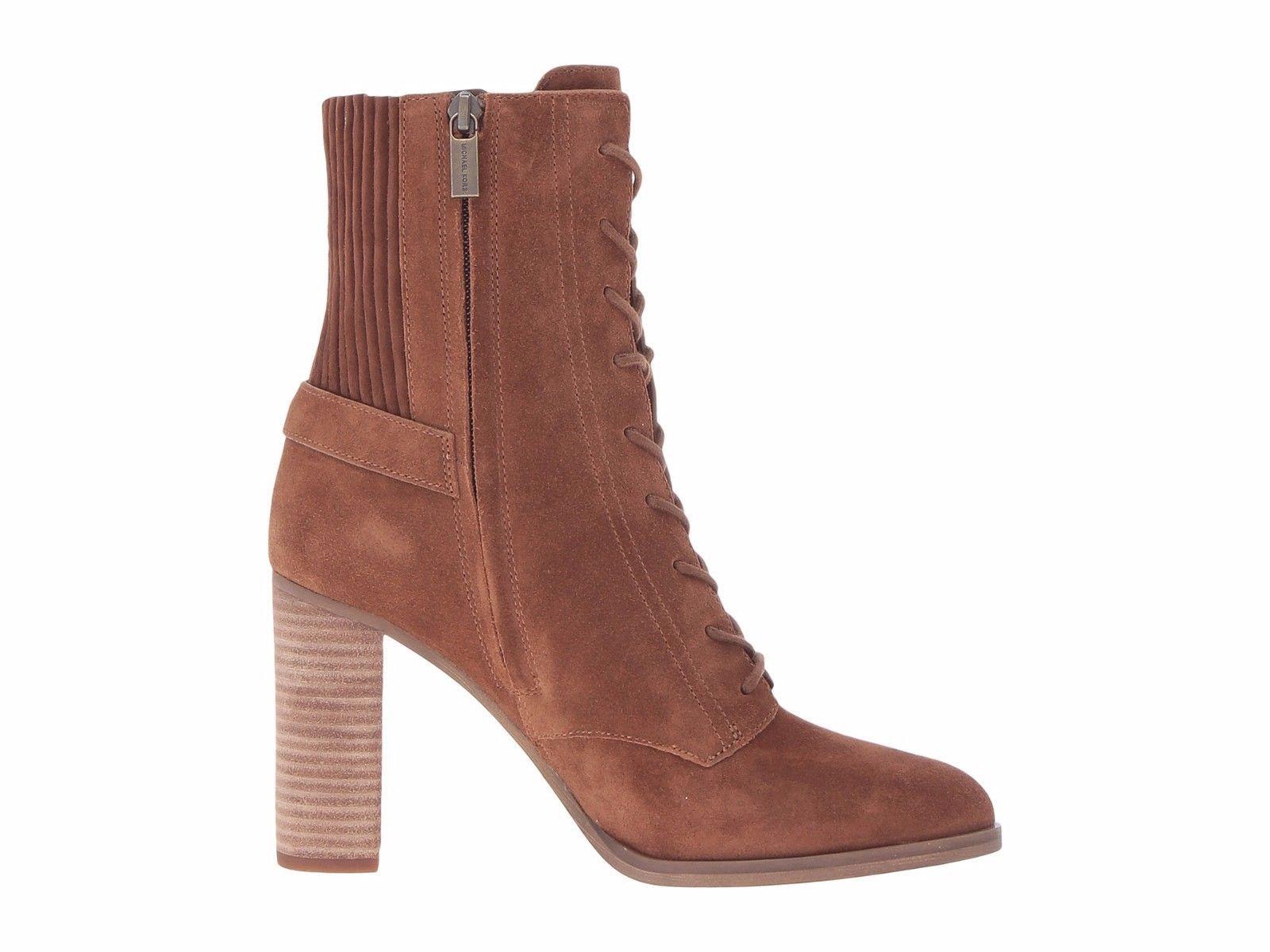 4eace05c70ed MICHAEL Michael Kors Women s Carrigan Bootie Boots Dk Caramel  260.00 Mult  Siz