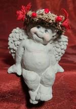Dreamsicles Cherub Angel Cute Smiling Figurine Kristin Self Sitter 1994 NO BOX