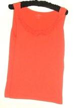 Women's Orange Detail Tank Size Mp Ann Taylor Loft - $8.00