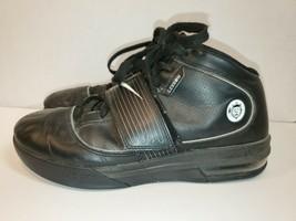 Nike Air Zoom Witness Lebron James Basketball Shoes Black Men's Size 9.5 - $15.10