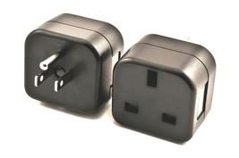 VCT VP18 UK to USA Plug Adapter Converts 3 pin British Plug to 3 Prong G... - $7.99