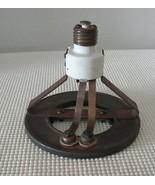Antique SCREW IN RING SOCKET HEATER CHROMALOX HEATING ELEMENT 115V 750W ... - $38.79