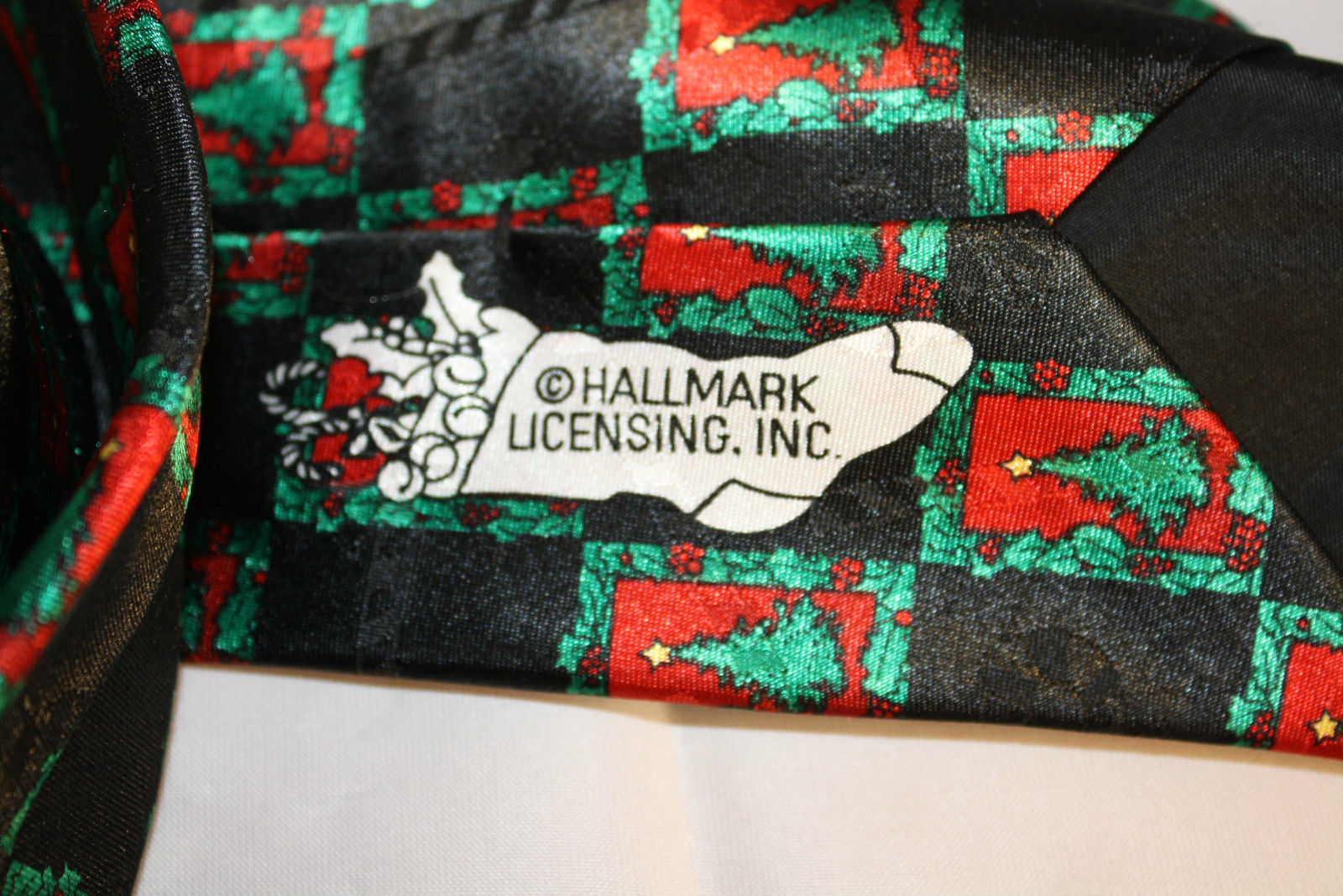 Hallmark Yule Tie Christmas Tree Tie