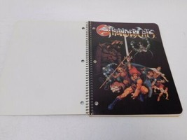 Vintage 1985 Thundercats Double Cover Spiral Theme Notebook Made in USA image 2