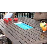 """OUTDOOR PATIO 47"""" X 90"""" RECTANGLE DINING FIRE TABLE - SERIES 4000 - $2,970.00"""