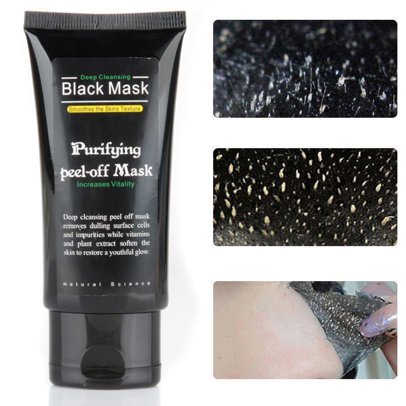 57. 57. Blackhead Remover Deep Clean Purifying Peel Off Black Mud Acne Face Mask ...