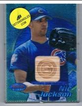 2002 Bowman's Best Blue #115 Nic Jackson NM-MT NM-MT Rookie Card MEM Cub... - $9.85