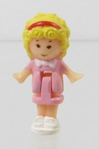 1989 Vintage Polly Pocket Doll Polly's Flat & Other Sets - Polly - $7.50