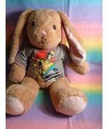 Build-A-Bear Workshop Tan Bunny Plush Floppy Ears w/ Grey Star Wars T-Sh... - $23.53