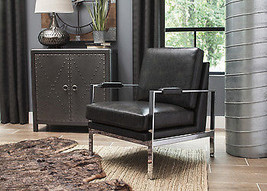 Ashley Network Black Accent Chair - $247.26