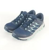 Merrell Woldwood Womans Trail Running Shoe/ J5066800 Navy Gray Blue Sz 8 - $57.13