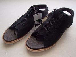 Puma Iskirra Women's Open Toe Suede Slingback Sandals Shoes, Black, 10.5 M - $25.95