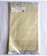 Cross Stitch Fabric Aida 14 Count Ivory 12 x 18 by Charles Craft - $6.43