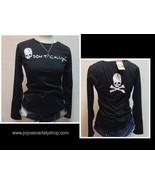DON'T CALL Skull Shirt Blouse T-Shirt Top Graphic Women Sz L or M - $12.99