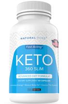 Keto 360 Slim Weight Loss Pills Diet Supplement Ultra Fast Fat Burn 800 MG - $33.33