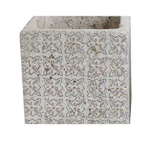 Cement Tile Pattern Planter - $37.62
