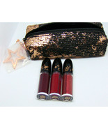 M.A.C Holiday 2019 Starring You Retro Matte Liquid Lipstick Set with Pouch - $29.65