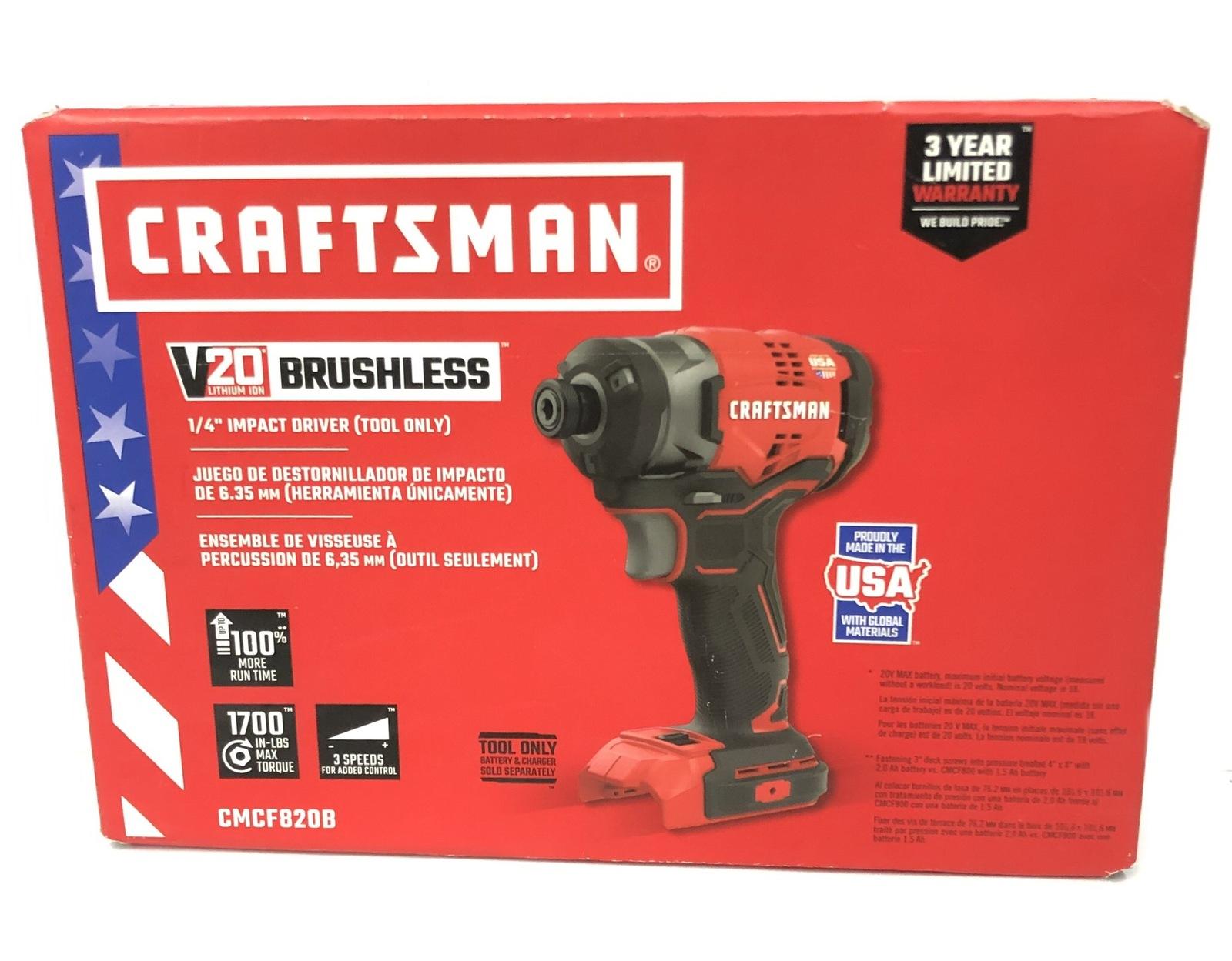 Craftsman Cordless Hand Tools Cmcf820b