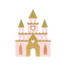 Creative Converting 3D Glittery Castle Centerpiece | Pink | 1 Pc. Ligh - $15.99
