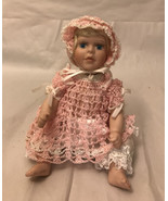 Kais American Shannon Redhead  Porcelain Doll with Glass Eyes Janis Berard - $11.88