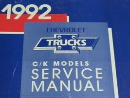 1992 Chevrolet Chevy Ck Truck Suburban 1500 2500 3500 Service Repair Man... - $148.51
