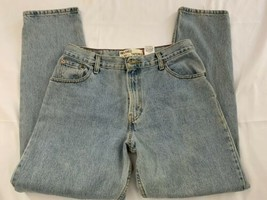 Levi's 550 Classic Cut sz 12 M Blue Relaxed Tapered 'Mom' Jeans Denim - $14.96