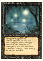 Magic: The Gathering 3rd Edition - Will-O-The-Wisp - $1.25