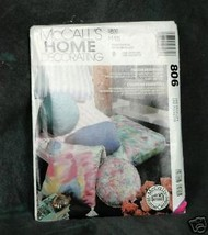 "McCall's #806 Home Decorating ""Pillow Essentials"" - $2.00"